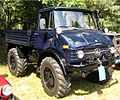 2009 08 22 Weelde 142240 - Beautiful blue vintage Unimog 406 pickup truck.jpg