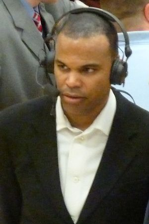 2010–11 Harvard Crimson men's basketball team - Image: 20110305 Tommy Amaker
