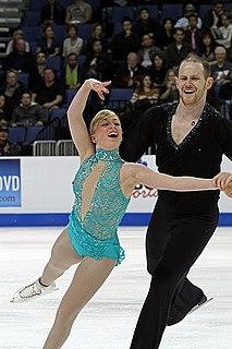 Caydee Denney American pair skater