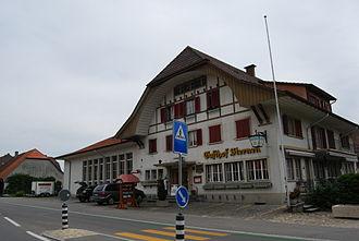Safnern - The Gasthof (Hotel/Restaurant) Sternen in Safnern