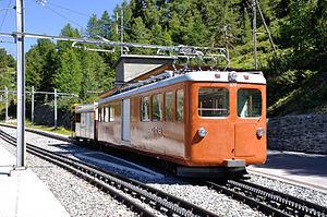 Gornergrat Railway - Image: 2012 08 17 15 31 24 Switzerland Canton du Valais Blatten