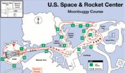 2012 Great Moonbuggy Race Course Map