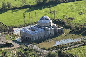 Lead Mosque, Shkodër - View from Rozafa Castle