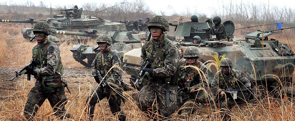2013.2.27 육군 26사단 장갑하차전투훈련 Republic of Korea Army 26th Division (11918611034)