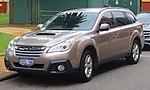 2013 Subaru Outback (BR9 MY14) 2.0D station wagon (2018-10-12) 01.jpg