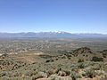 "2014-06-13 12 30 05 View south-southeast from the summit of ""E"" Mountain in the Elko Hills of Nevada.JPG"