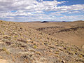 2014-07-18 16 33 46 View east-southeast from the north lip of the Lunar Crater, Nevada.JPG