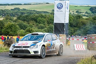 Rallye Deutschland - The Polo R WRC, the 2015 and 2016 winner in Germany.