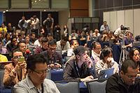 2015 Wikimania press conference-7.jpg