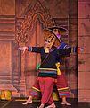 2016 Phnom Penh, Tradycyjny Kambodżański Pokaz Tańca (189).jpg