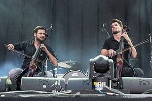 2Cellos in 2017