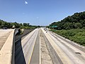 2019-07-25 11 45 23 View north along Interstate 97 from the overpass for eastbound Interstate 695 (Baltimore Beltway) on the edge of Brooklyn Park and Linthicum in Anne Arundel County, Maryland.jpg