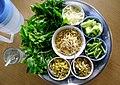 Thai veg. platter