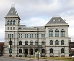 2019 SUNY Plaza, Old Post Office from south, Albany, New York.jpg