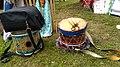 "2021-06-13 Peledysh payrem (Mari ""Flower Festival"") Mari drums 34.jpg"