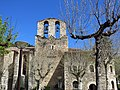 243 Santa Maria de Camprodon, façana sud, campanar.JPG