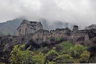 Georgian Armenia - Akhtala Monastery