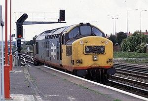 British Rail Class 37 - 37 371 BR Class 37/3 loco at Eastleigh