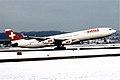 388av - Swiss Airbus A340-313X, HB-JMG@ZRH,29.12.2005 - Flickr - Aero Icarus.jpg