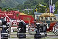 3D Chess Set Canyon and steam locomotive, Adahesong Taiwan King Garden 20160604b.jpg