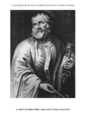 3 Mark's Gospel A. introduction image 3 of 4. Saint Peter. Bolswert.png