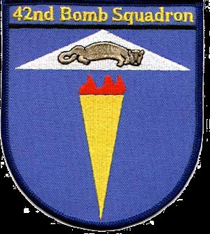 42d Bombardment Squadron - Emblem