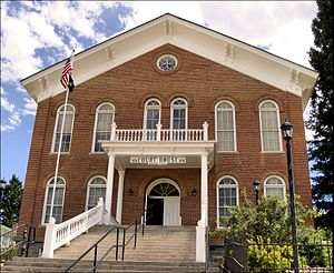 Madison County Courthouse in Virginia City