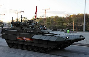 Armata Universal Combat Platform - Armata IFV with Epoch 30mm turret covered up