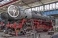 52 8177-9, Germany, Thuringia, Steam locomotive plant Meiningen (Trainpix 153435).jpg