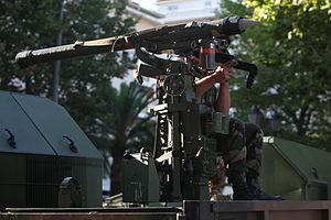 Mistral (missile) - Image: 54RA IMG 9142