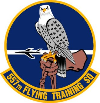 557th Flying Training Squadron - 557th Flying Training Squadron Patch