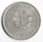 5 Mark DDR 1987 - Nikolaiviertel-rs.jpg