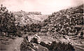 635 - Jerusalem - Valley of Kidron, Siloam and City Wall.JPG