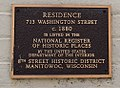 713 Washington Street National Register Plaque.jpg