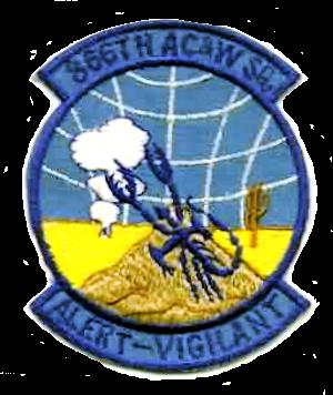 Tonopah Air Force Station - Emblem of the 866th Radar Squadron