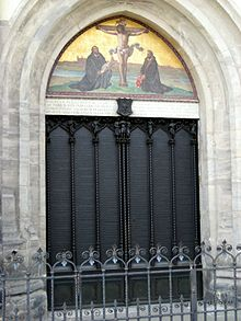 Door of All Saints chruch in Wittenberg