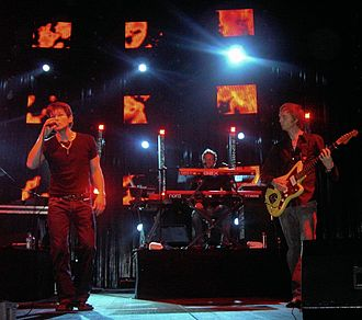 2005 in Norwegian music - A-ha in concert.