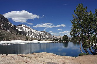 Ruby Mountains - Lamoille Lake