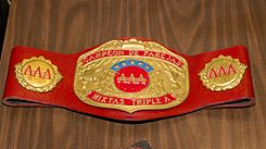 AAA World Mixed Tag Team Championship belt.jpg