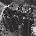 AN ORIENTAL DANCE PERFORMED BY THE RINA NIKOVA BALLET IN JERUSALEM. ריקוד מזרחי בביצוע להקת המחול של רינה ניקובה.D827-050.jpg