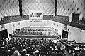 AR-partijraad in Doelen Rotterdam opdracht AR (partijraadsvergadering), Bestanddeelnr 929-1662.jpg