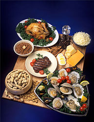 Selection of foods