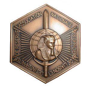 Military interpreter (France) - Medal of the association Nationale des Officiers de Liaison et des Interprètes de réserve (ANOLIR)