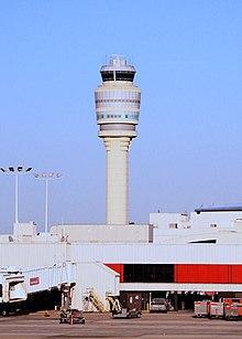 管制塔 ハーツフィールド・ジャクソン・アトランタ国際空港