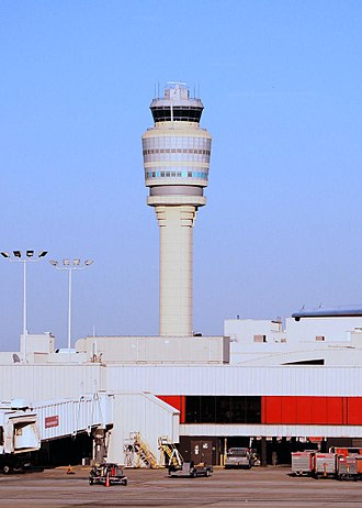 Hartsfield–Jackson Atlanta International Airport - Hartsfield–Jackson Atlanta International Airport's air traffic control tower
