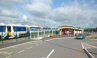 Aylesbury Vale Parkway railway station Railway station in Buckinghamshire, England