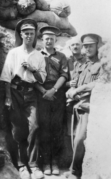 AWM P02194.008 Wilder-Neligan at Gallipoli