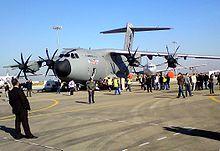 L'A400M nel giorno del suo primo volo, l'11 dicembre 2009 a Siviglia.