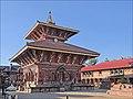 A Hindu temple in Bhaktapur Nepal Le Hindou temple de Changu Narayan.jpg