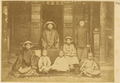 A Scholar's Family. His Wife Is Not Present, for Strict Confucian Families Did Not Allow Women Out of Their Homes. China, 1874-75 WDL1931.png